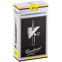 Vandoren Vandoren V12 Soprano Sax Reeds - Box of 10