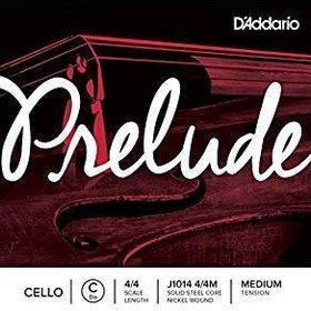 """D'Addario D'Addario Prelude Steelcore Cello Strings - 4/4 """"C"""" String/Medium"""