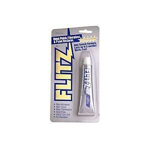 Flitz BP 03511 Metal, Plastic and Fiberglass Polish Paste, 1.76 oz. Blister Tube