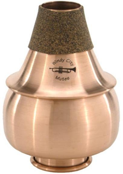 Windy City Trumpet All-Copper Ball Mute