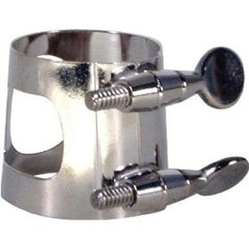 American Plating 334N Ligature for Alto Saxophone, Nickel Plated