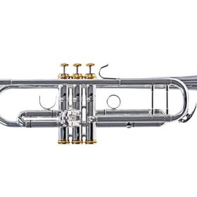 System Blue System Blue Professional Marching Bb Trumpet SB10S - Silver