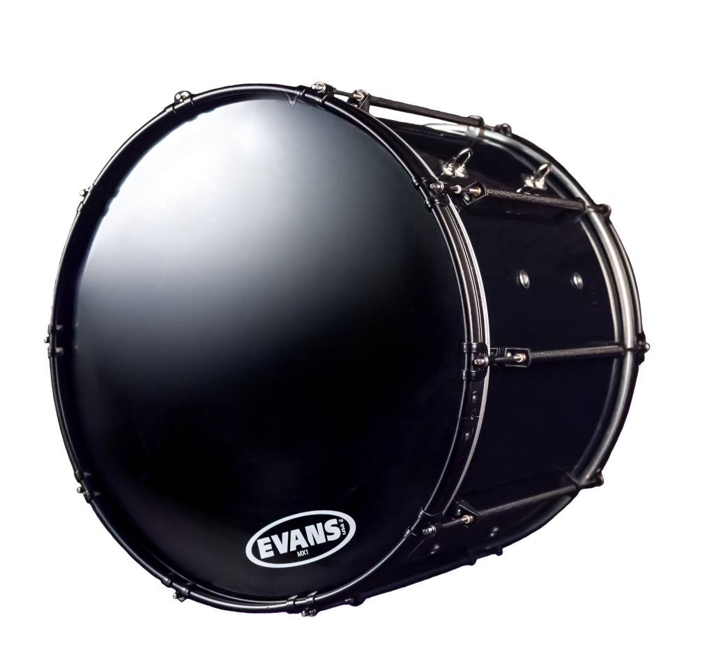 """System Blue System Blue Natal Professional Marching Bass Drum 14""""X28"""