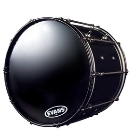 """System Blue System Blue Natal Professional Marching Bass Drum 14""""X30"""