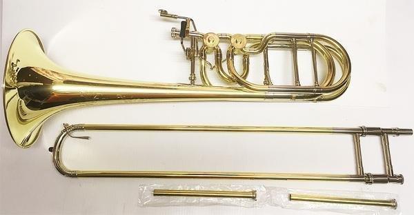 Eastman Eastman ETB-848 Bass Trombone Outfit e/Dual Inline Rotary Valves