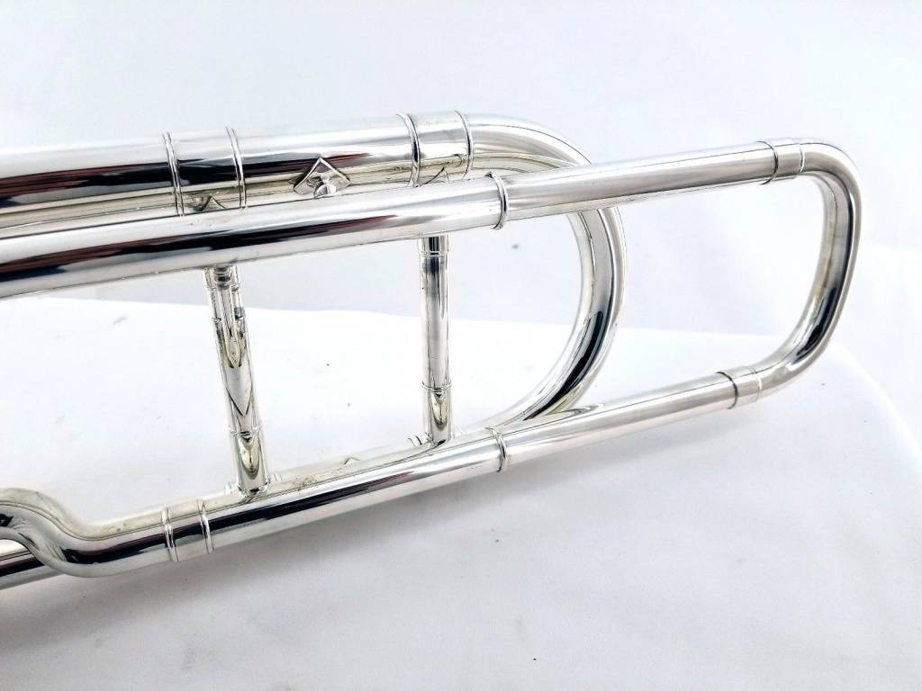 Bach 42BO Silver Plated Professional Trombone - Pre-Owned