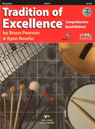 Tradition of Excellence Percussion Book 1