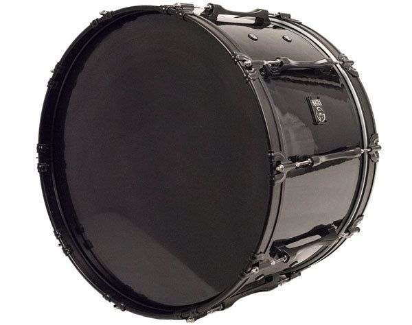 "System Blue System Blue Natal Traditional Marching Bass Drum 14""X28"