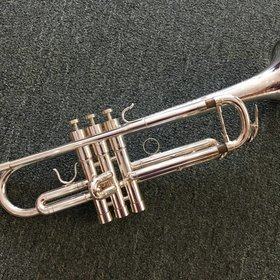 """BAC Musical Instruments BAC Musical Instruments """"Artist"""" Series NYC Bb Trumpet (Silver Finish) - Pre-Owned"""