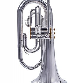 System Blue System Blue Professional Marching Bb Euphonium Hybrid SB30S - Silver