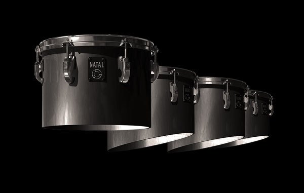 System Blue System Blue Natal Traditional Marching Tenor Drum 10