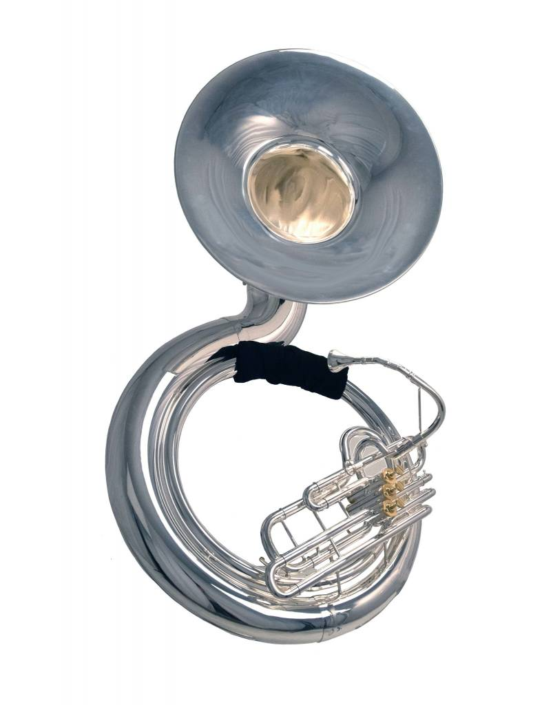System Blue System Blue Professional Marching BBb Sousaphone SB52S - Silver 3 Valve