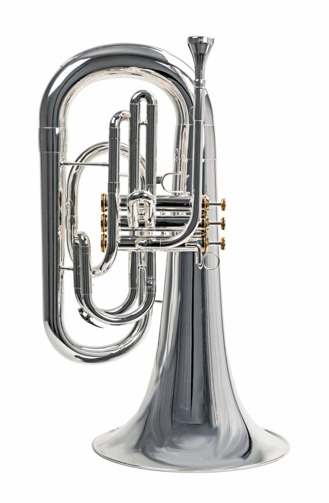 System Blue System Blue Traditional Marching Bb Euphonium SB30S-LE - Silver