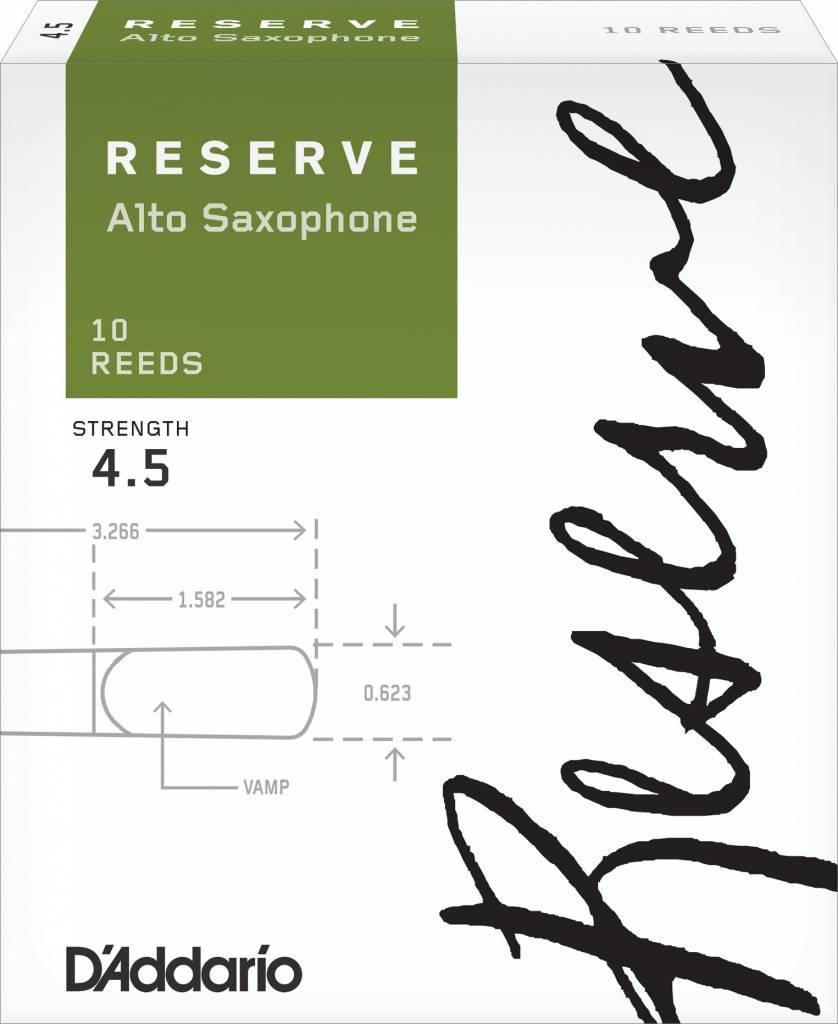 D'Addario D'Addario Reserve Alto Sax Reeds - Box of 10