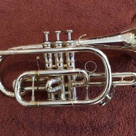 Jupiter Band Instruments Jupiter Tribune 1220R Cornet Silver - PRE-OWNED