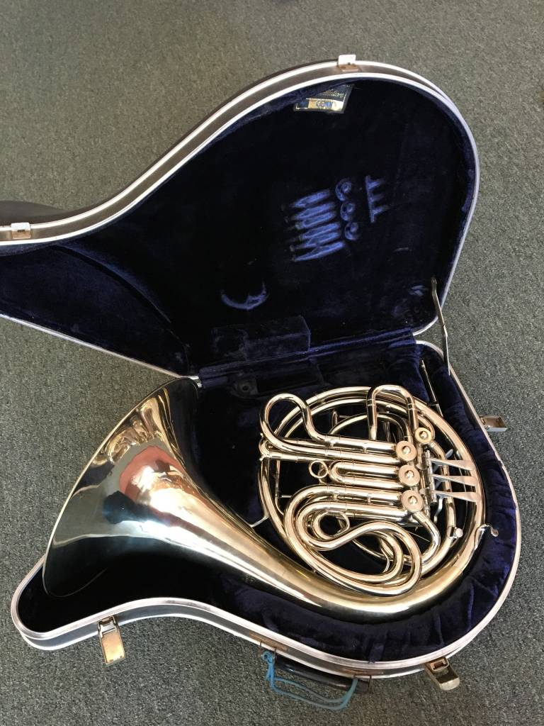 Conn Elkhart 8D Silver French Horn - PRE-OWNED