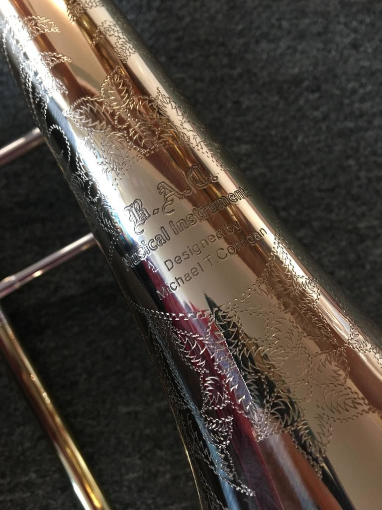 "BAC Musical Instruments B.A.C. Musical Instruments ""Artist"" Series Windy City Trombone - PRE-OWNED"