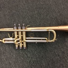 "BAC Musical Instruments BAC Musical Instruments ""Artist"" Series NYC - Satin Bb Trumpet - Pre-Owned"