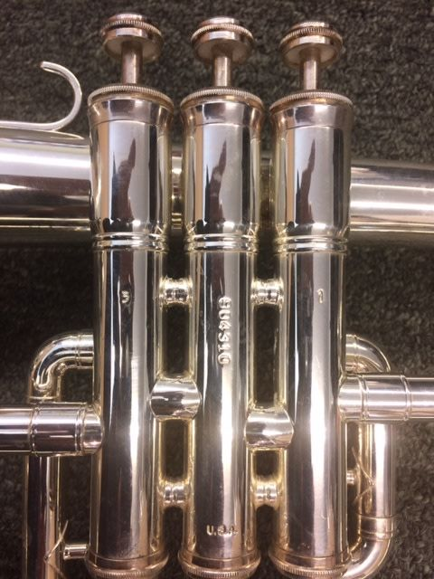 King King 650 Flugelhorn Silver Plated - PRE-OWNED