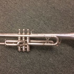 King H.N. White Cleveland Greyhound Trumpet - PRE-OWNED