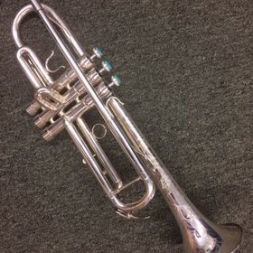 BAC Musical Instruments B.A.C. Artist NYC Silver Trumpet - PRE-OWNED