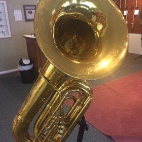 King Vintage King 3 Valve Bell Front Tuba - PRE-OWNED