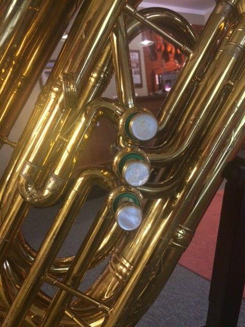 King Vintage King 3 Valve Bell Front Tuba - PRE-OWNED