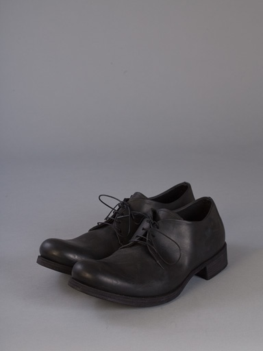 MA+ MA+ 1 LEATHER PIECE DERBY MEN SHOES BLK