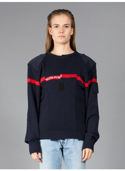 VETEMENTS VETEMENTS RE-WORKED POMPIER TOP