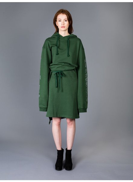 VETEMENTS VETEMENTS HOODIE DRESS