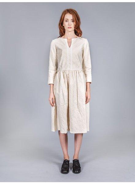 RENLI SU RENLI SU WOMEN COTTON JACQUARD DRESS
