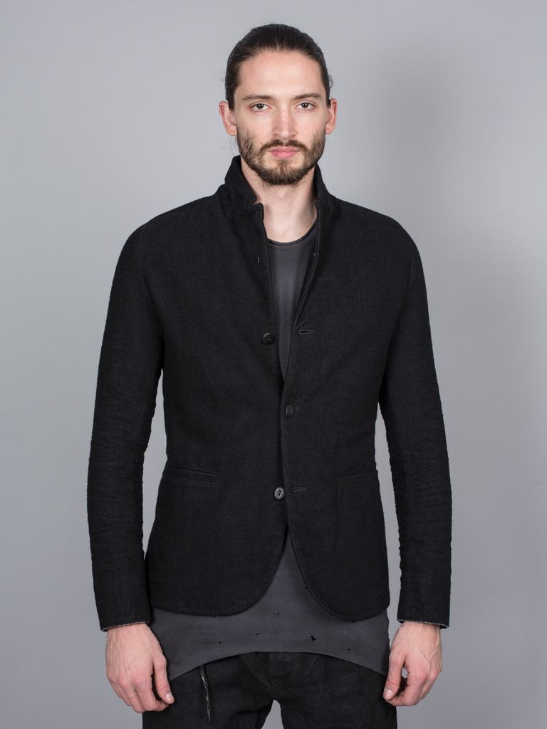 LAYER-0 LAYER-0 MEN 3 BUTTON JACKET