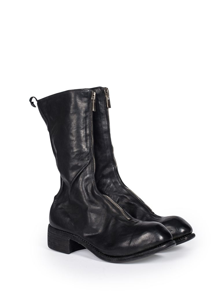 GUIDI PL9 GUIDI WOMEN SOFT HORSE LEATHER CLASSIC TALL FRONT ZIP BOOT