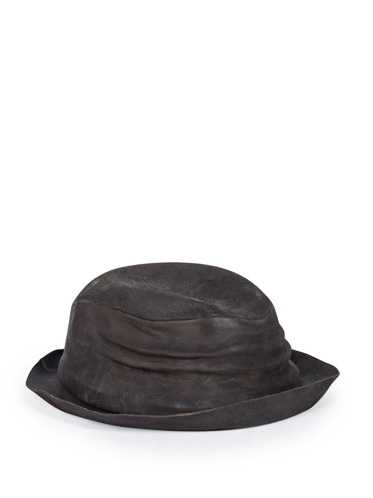 LAYER-0 LAYER-0 CORDOVAN LEATHER HAT
