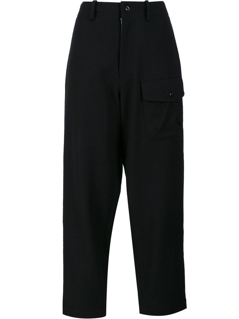 Y'S Y'S WOMEN OUT POCKET PANTS