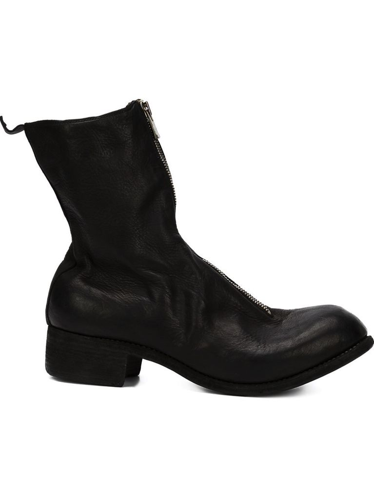 GUIDI GUIDI PL2 MEN HORSE LEATHER FRONT ZIP BOOT