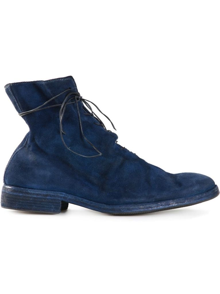 GUIDI GUIDI MEN STAG REVERSE LINED SOLE LEATHER