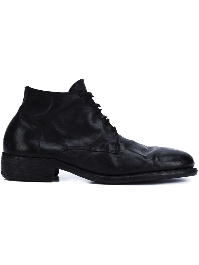 GUIDI GUIDI KANGAROO LEATHER DESERT BOOT