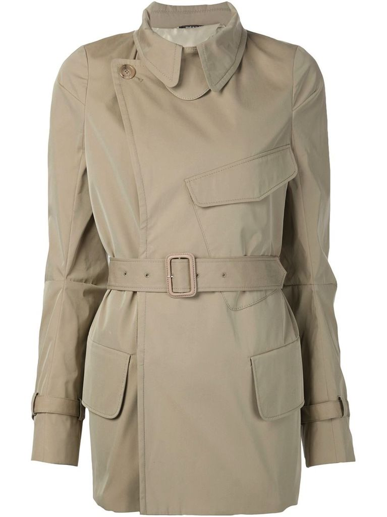 MAISON MARGIELA MAISON MARGIELA WOMEN DECONSTRUCTED SHORT TRENCH COAT