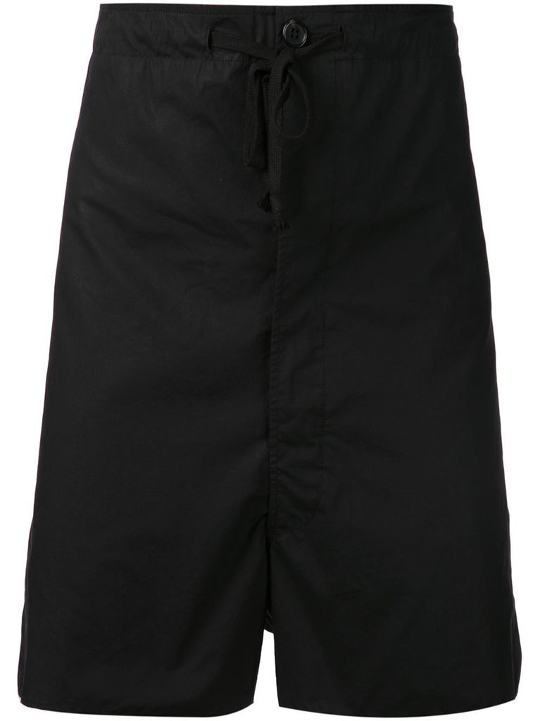 ANN DEMEULEMEESTER ANN DEMEULEMEESTER MEN  SHORTS PURPOSE BLACK
