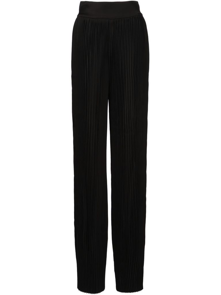 BALMAIN BALMAIN WOMEN PLEATED PANTS