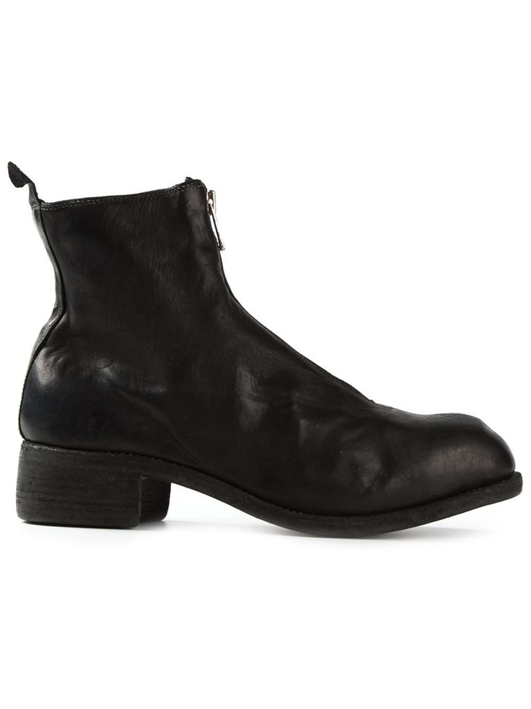 GUIDI GUIDI WOMEN PL1 FRONT ZIP BOOT