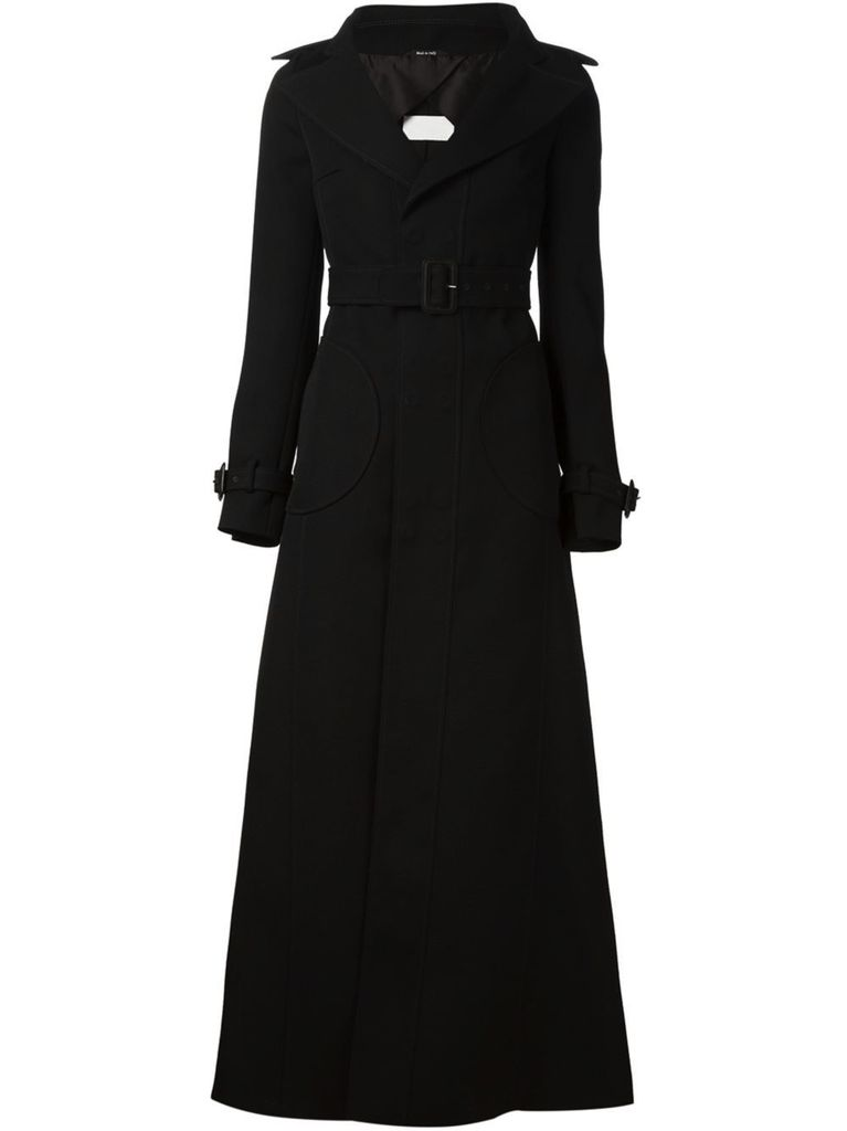 MAISON MARGIELA MAISON MARGIELA WOMEN COTTON TWILL TRENCH COAT
