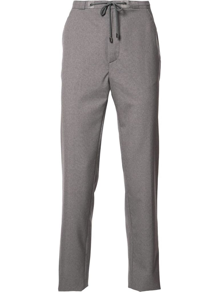 MAISON MARGIELA MAISON MARGIELA MEN MELANGE TROPICAL WOOL PANTS