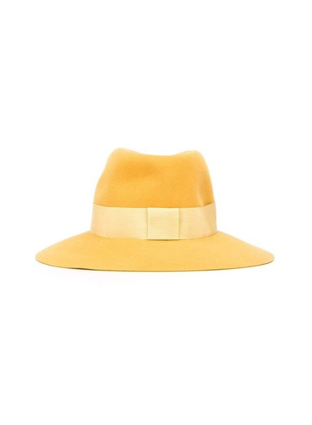 MAISON MICHEL PARIS MAISON MICHEL WOMEN VIRGINIE HAT FELT SEASONAL BASIC