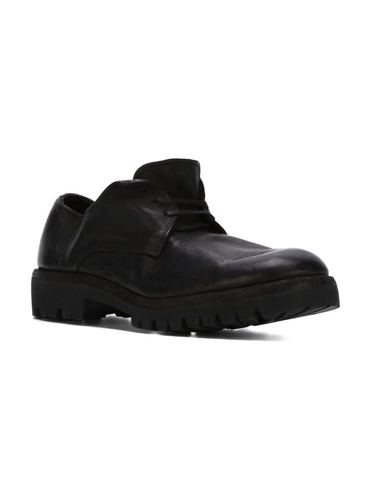 GUIDI GUIDI MEN DERBY WITH VIBRAM SOLE