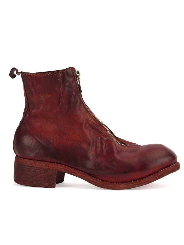 GUIDI PL1 GUIDI MEN FRONT ZIP ANKLE BOOT