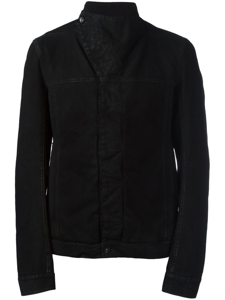RICK OWENS DRKSHDW DRKSHDW MEN DENIM SLAVE JACKET