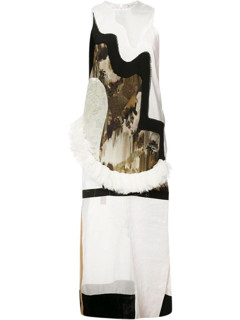 ANNE SOFIE MADSEN ANNE SOFIE MADSEN PATCHWORK DRESS