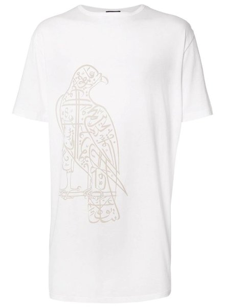 THAMANYAH THAMANYAH MEN TAILORED SHORT SLEEVE PRINTED T-SHIRT